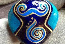 ζωγραφική πετρες
