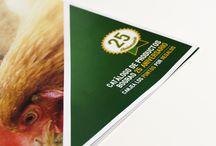 Catálogo de producto Bograo / Catálogo de producto que hemos realizado para la marca de piensos Bograo S.L. con motivo de su 25 aniversario #catalogo #design #maquetación #diseño