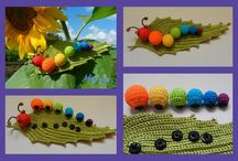 I knit for the kids.  / Choose and order! Made with love. Knitted rattles, knitted vegetables and fruits, knitted beads, knitted hair, knitted toys-for you and your kids