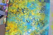 Gelli Plate / Monoprinting / by Paula Ganyard