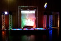 Lighted Dance Stages / Everybody loves dancing on stage and when those stages happen to light up...everyone is out of their chair and on the floor! Our LED stages give that WOW to any of our set-ups. Whether you want 1 or 2 tiers of staging we have it.