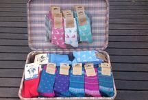 De sokken koffer van Lotika / Duurzame sokken zijn trendy en hip shop ze bij Lotika.
