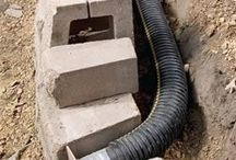 Drainage for garden