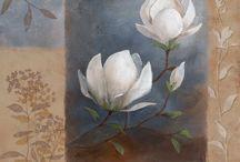 Laminas de flores para cuadros