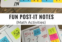 Post it notes for maths