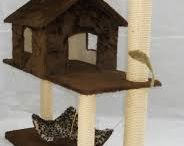 Cat trees/scratching posts