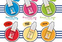 Nos e-liquides / Découvrez les gammes de e-liquides d'Olala Vape