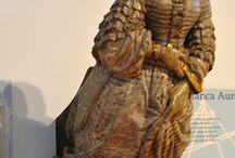 Folk Art Sculpture / by Leisa Shannon Corbett Art Studio