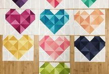 ❤ Heart Quilts! ❤