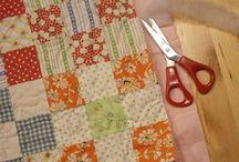 Self binding a quilt