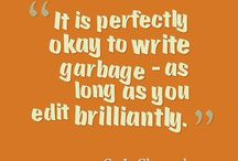 Words of wisdom for writers
