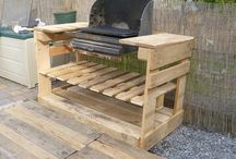 Pallet BBQ, Bars and Tiki Bars