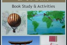 Around the World in 80 Days Study Ideas and Activities / Study Ideas | Activities | Homeschooling | Educational | Around the World in 80 Days  | Printables | Learning | Unit Studies | Crafts