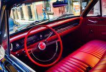 Autos clásicos / Albums autos que participarán en el Rally Maya México