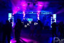 Sarcoa Restaurant NYE Event - December 31, 2013 / New Years Party At Sarcoa Restaurant. 24 LED Panels, 4 Moving Heads, LED Uplights, LED Bars, JBL Sound System and DJ Setup.