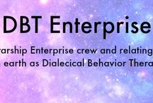 #DBT for #SciFi #STNG Fans / DBT skills presented in a fun engaging way for scifi fans of the show Star Trek: The Next Generation #STNG. / by HealingFromBPD