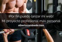 """Fitness Personal """"El Blog de Alberto Zambade"""" / Todos los artículos del blog desde mi web cada semana."""