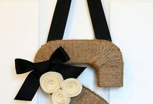 DIY Wreaths...  Fun ideas for sprucing up your doors with a wreath!