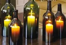 WINE IDEAS / Ideas of using bottles and corks.