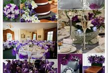 purple weeding ideas