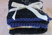 Crochet Dish Cloths and Towels