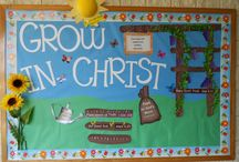 CHURCH BOARD IDEAS / by Christa Pitts