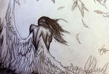 Drawing angel