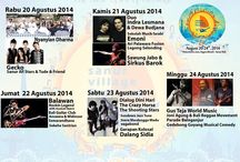 9th Sanur Village Festival 2014 / Heritage, Culture, Music performance, Food N Beverage Court, Exhibition and many more such as entertainment