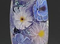 Üveggyönygyök, függeszthető üveggömbök