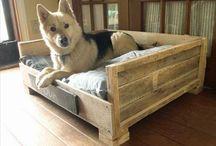 Palettenhundebetten