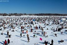 Ice Fishing To Raising Money / Interesting way to raise money...every needs ideas. / by vtmom13