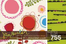 SURTEX 2014 ~ Kim Moulder ~ Booth 755 / I will be exhibiting this year at SURTEX, an art licensing tradeshow in New York City!  Come say hello ~ Booth 755!