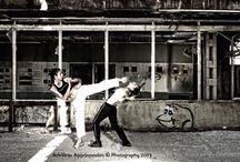 Fight Club / Martial Arts Scenes in an elegant way