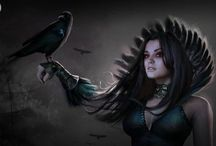 Witches, wizards, shamans, enchantresses... (fantasy)