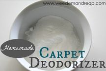 Cleaning Aids / Cleaning products for the home (including homemade)