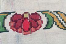Bir başkadır yurdumun işleri / Sinop yöresi tezgah dokumaları ile tığ ve iğne ile yapılmış kolye