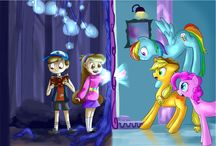 Mlp and gravity falls