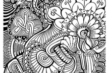 Coloring pages / by Angela Hayes