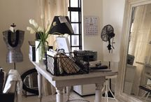 Home Office Work Space Ideas / {My contemporary haven}