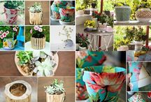 DIY 9 original pots for the garden