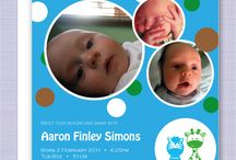 Birth announcements / Tiny Dragonflies' range of modern, unique birth announcements for your new gorgeous boy or girl. Professional printing on high quality paper. http://tinydragonflies.net/product-category/birth-announcements2/