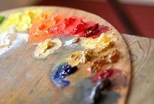 artist life. art love. / life as an artist. / by Jennifer {StudioJRU}