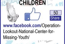 How You Can Help Missing Kids / Operation Lookout® is dedicated to locating MISSING, ABDUCTED, and RUNAWAY children, and reuniting missing kids with their family or legal guardian at no cost.Visit: www.operationlookout.org / by Operation Lookout