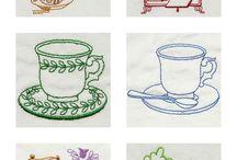 Fiberlove-Machine embroidery