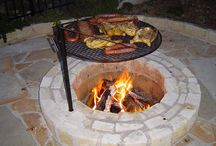 Grill and fire pit