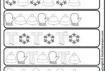 patterning work sheets
