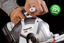 ToolsZone.ro - Promotie scule electrice profesionale cu acumulatori Panasonic 2015 /  Promotie scule electrice profesionale cu acumulator Panasonic: masini de gaurit si insurubat, masini de insurubat cu impact, ciocane rotopercutoare, surubelnite cu acumulator, fierastrau sabie, fierastrau circular, polizor unghiular, pistoale de aplicat silicon, panze circulare placate CMS, acumulatori