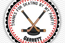 Hockey Party Ideas / Personalized Hockey Party Favors and Ideas