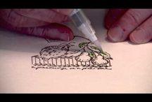 brushpen techniques