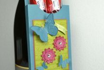 Boxes and 3D-Projects / Card and craft ideas, most with Stampin' Up!